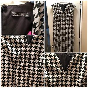 Black/White Houndstooth dress size 12